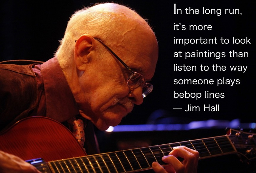 Jim Hall Quote